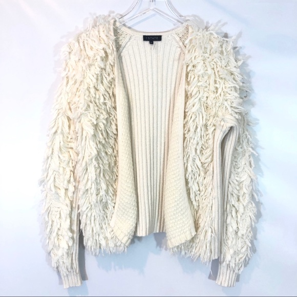 1. STATE LOOP STITCH CARDIGAN SIZE LARGE